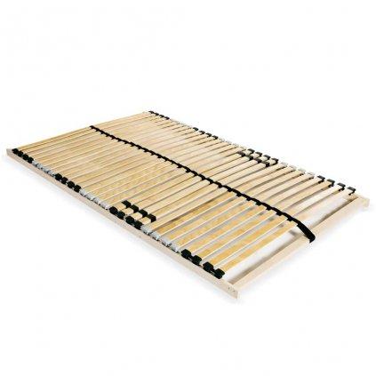 Lamelový rošt postele s 28 lamelami - 7 zón - | 100x200 cm