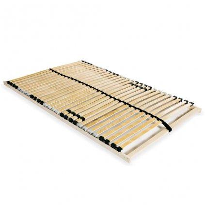 Lamelový rošt postele s 28 lamelami - 7 zón - | 120x200 cm