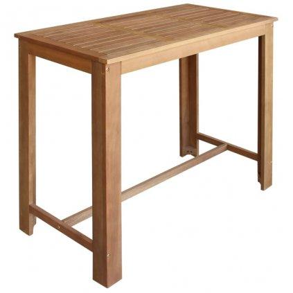 Barový stůl Clifton - masivní dřevo | 120x60x105 cm