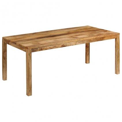 Jídelní stůl Dutson - masivní dřevo | 180x90x76 cm
