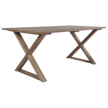 Jídelní stůl z masivního recyklovaného teaku | 180x90x76 cm
