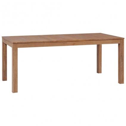 Jídelní stůl Nurran - masivní teak   180x90x76 cm