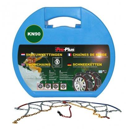 ProPlus Sněhové řetězy na pneumatiky - 2 ks - 12 mm - KN90