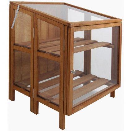 Esschert Design Skleník z tvrdého dřeva | malý