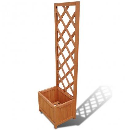 Truhlík s treláží | 40x30x135 cm