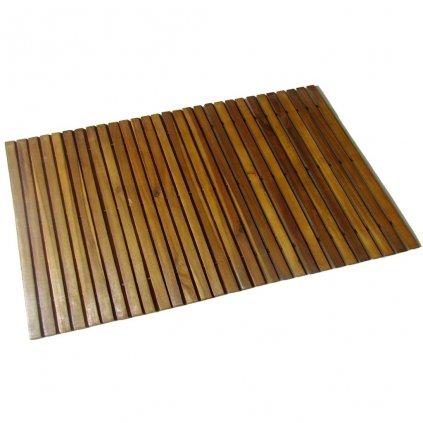 Koupelnová předložka z akáciového dřeva   80x50 cm