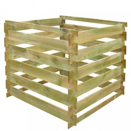 Laťkový kompostér - 0,54 m3 - čtvercový | FSC dřevo