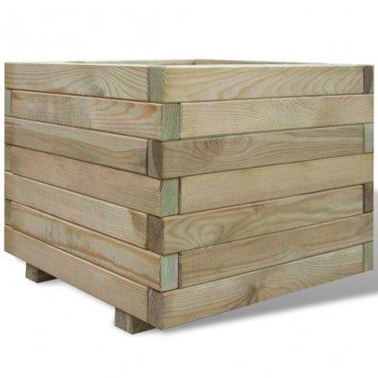 Truhlík - FSC dřevo - čtvercový | 50x50x40 cm