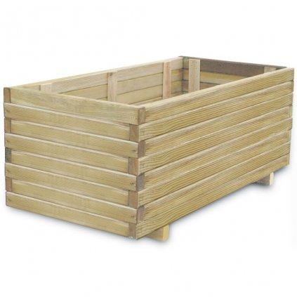 Truhlík - FSC dřevo - obdélníkový   100x50x40 cm