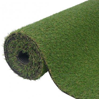 Umělá tráva 1x10 m / 20–25 mm   zelená