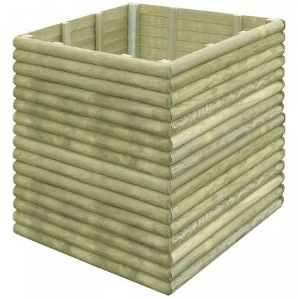Zahradní truhlík - impregnované FSC borové dřevo   106x106x96 cm