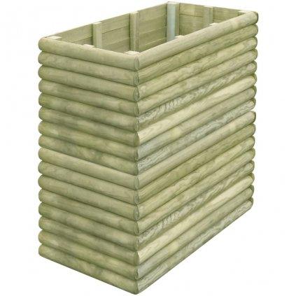 Zahradní truhlík - impregnované FSC borové dřevo | 106x56x96 cm