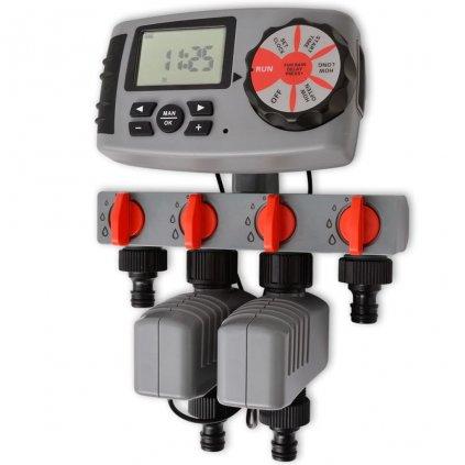 Automatický zavlažovací časovač se 4 stanicemi | 3 V
