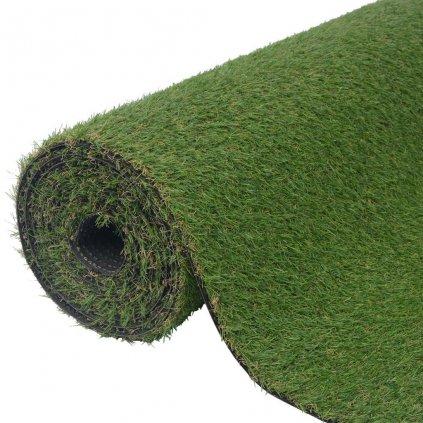 Umělá tráva 1,5x10 m / 20–25 mm | zelená