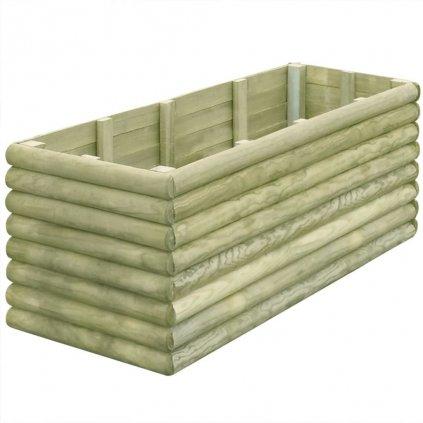 Zahradní truhlík - impregnovaná FSC borovice - 19 mm   150x56x48 cm