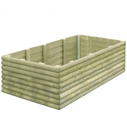 Zahradní truhlík - impregnovaná FSC borovice - 19 mm | 150x106x48 cm