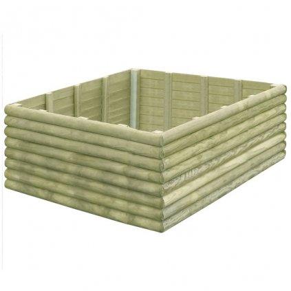 Zahradní truhlík - impregnovaná FSC borovice - 19 mm | 150x150x48 cm