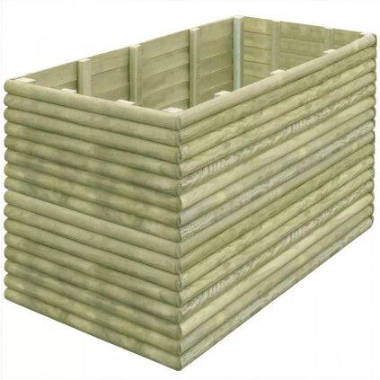 Zahradní truhlík - impregnované borové dřevo - 19 mm | 150x106x96 cm