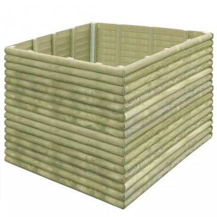 Zahradní truhlík - impregnované borové dřevo - 19 mm | 150x150x96 cm