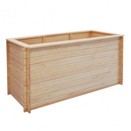Zahradní truhlík - FSC borové dřevo - 19 mm   150x50x80 cm