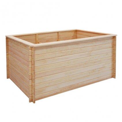 Zahradní truhlík - FSC borové dřevo - 19 mm   150x100x80 cm