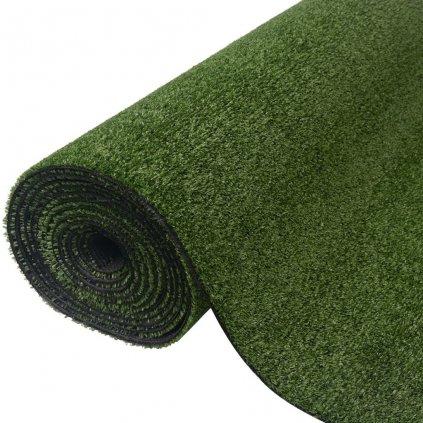 Umělá tráva 0,5x5 m / 7-9 mm | zelená