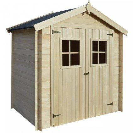 Zahradní domek / kůlna na dříví - dřevěný | 2x1,5 m