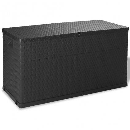 Venkovní úložný box - 120x56x63 cm - 420L | antracitový