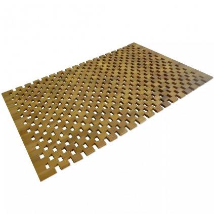 Koupelnová předložka - akácie - mozaika | 80x50 cm
