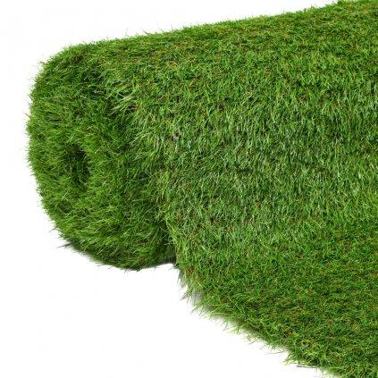 Umělá tráva 1,5x10 m / 40 mm | zelená