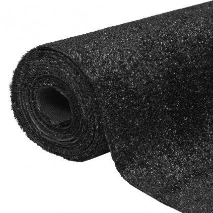 Umělá tráva 1,5x5 m / 7-9 mm | černá