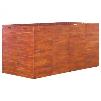 Zahradní truhlík akáciové dřevo | 200x100x100 cm