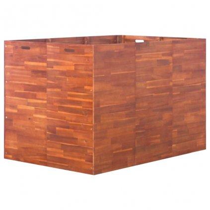 Zahradní truhlík z akáciového dřeva | 150x100x100 cm