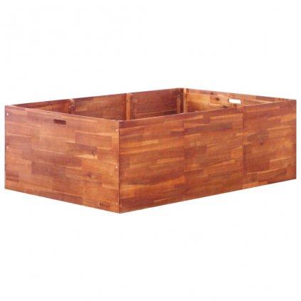 Zahradní truhlík z akáciového dřeva | 150x100x50 cm
