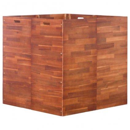 Zahradní truhlík z akáciového dřeva | 100x100x100 cm