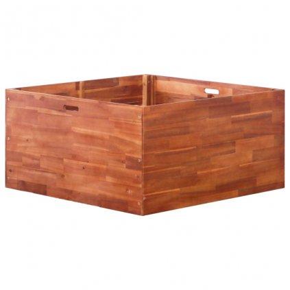 Zahradní truhlík z akáciového dřeva | 100x100x50 cm