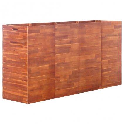 Zahradní truhlík z akáciového dřeva   200x50x100 cm
