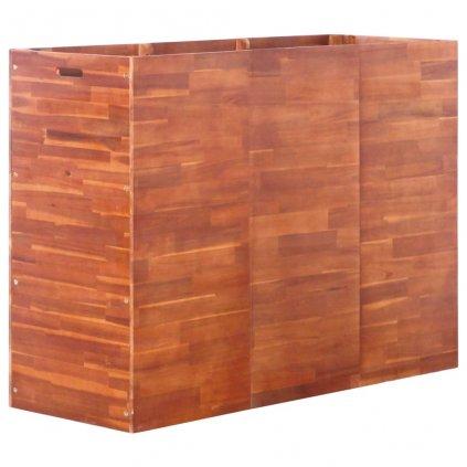 Zahradní truhlík z akáciového dřeva | 150x50x100 cm