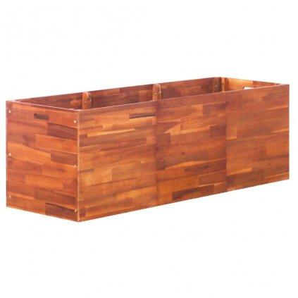 Zahradní truhlík z akáciového dřeva | 150x50x50 cm