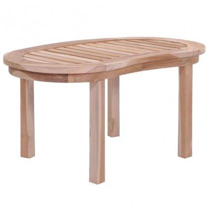 Konferenční stolek z masivního teaku | 90x50x45 cm