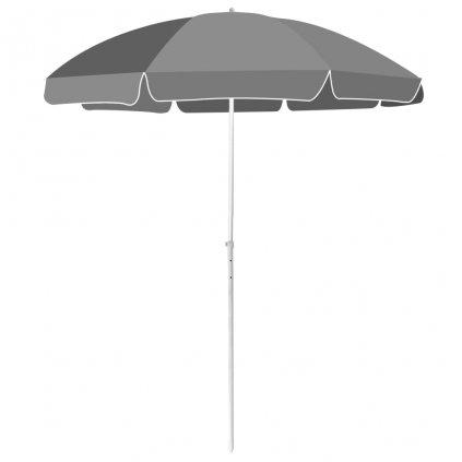 Plážový slunečník Ewell - antracitový | 180 cm