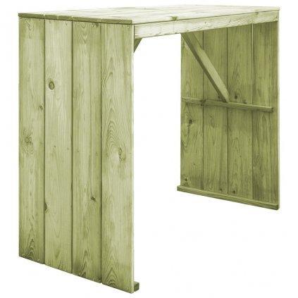 Barový stůl z FSC impregnované borovice | 130x60x110 cm