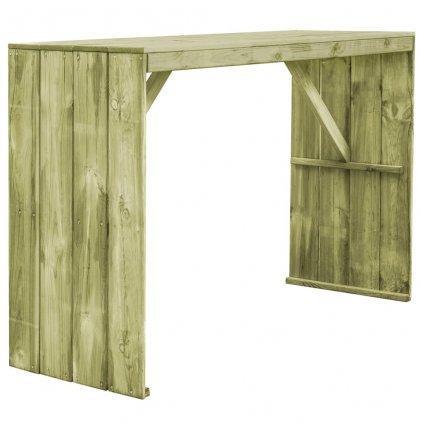 Barový stůl z FSC impregnované borovice | 170x60x110 cm