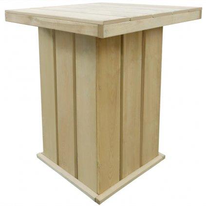 Venkovní barový stůl z FSC impregnované borovice | 75x75x110 cm