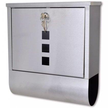 Poštovní schránka Gio z nerezové oceli