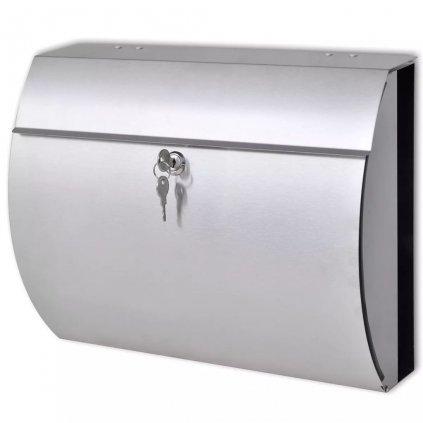 Poštovní schránka Grady z nerezové oceli