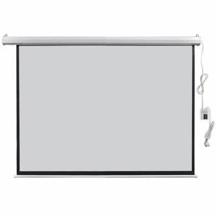 Elektrické promítací plátno - dálkové ovládání | 160x123 cm - 4:3