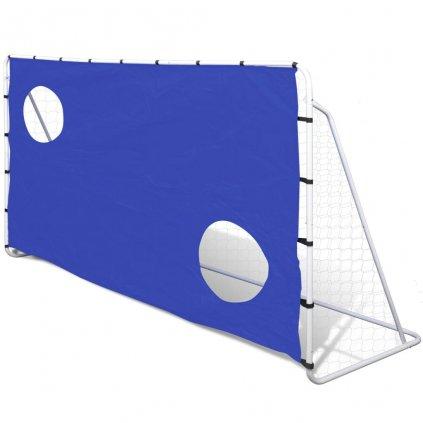 Fotbalová branka s cvičnou plachtou   240x92x150 cm