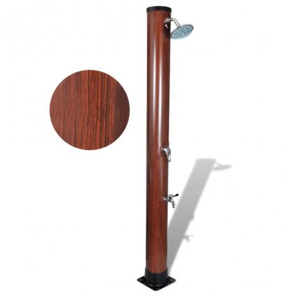Solární sprcha - vzhled dřeva | 1,96 m