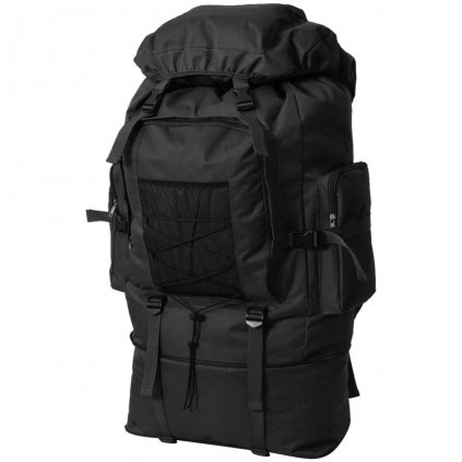 Batoh v army stylu - černý | 100 l